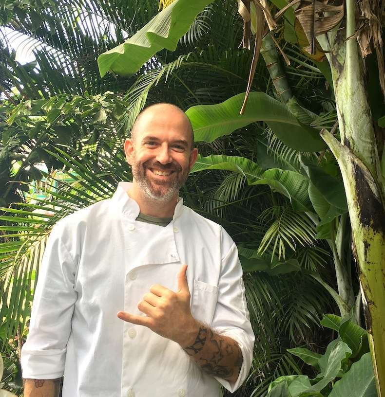 Kauai Vegan Chef John Galloway