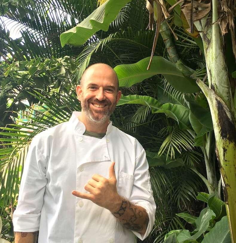 Kauai Vegan Chef John Galloway