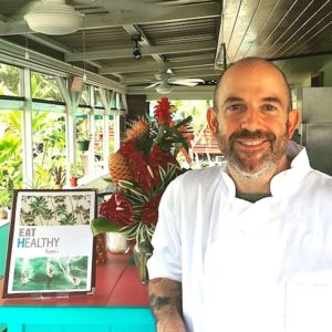 John Galloway, Vegan Chef at Eat Healthy Kauai