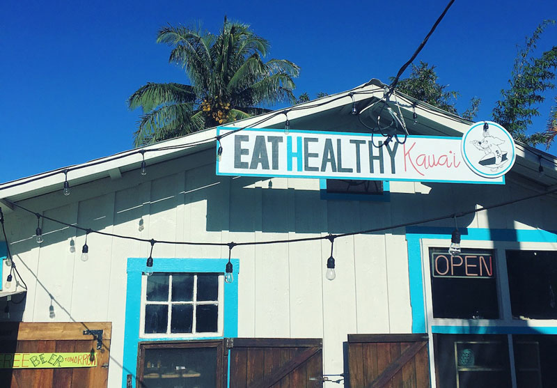 Eat Healthy Kapaa Kauai Building Exterior